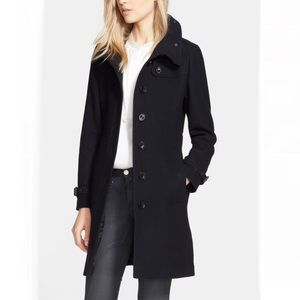 NWT Burberry Single Breasted Coat